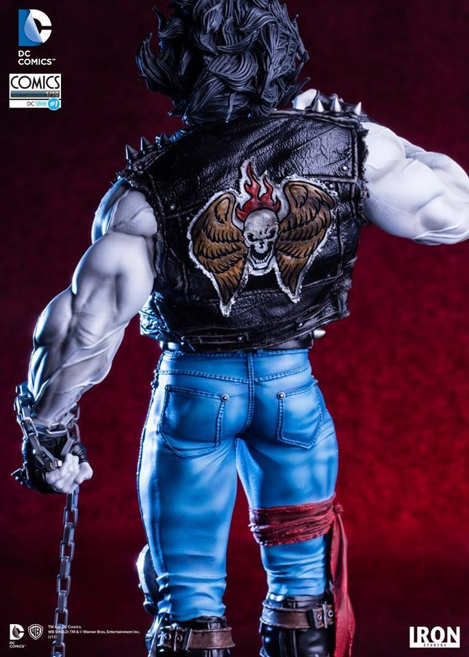 DC Comics: Lobo Art Scale 1/10 - Iron Studios
