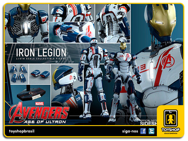Avengers Age of Ultron: Iron Legion - Hot Toys