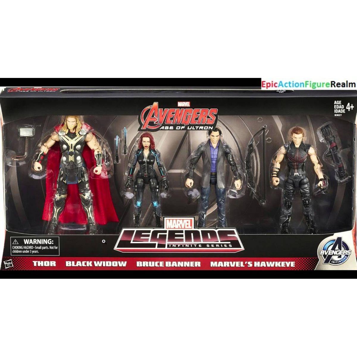 Box Avengers Encomenda Liliane