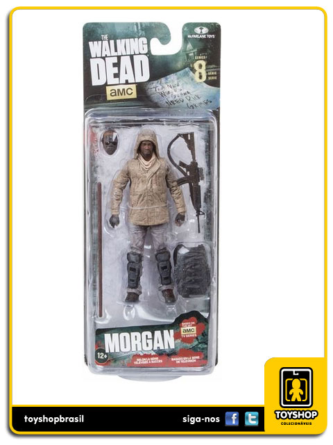 The Walking Dead 8: Morgan - Mcfarlane