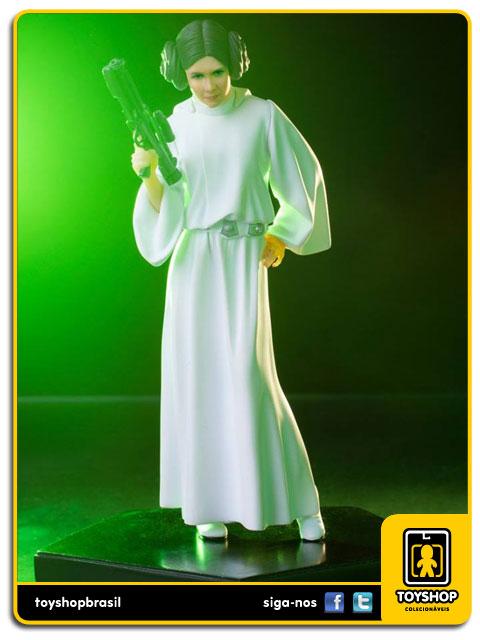 Star Wars: Estátua Princess Leia Art Scale 1/10 - Iron Studios