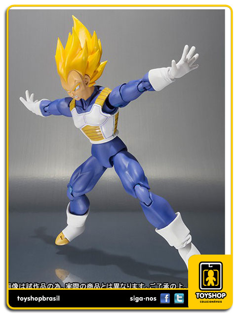 Dragon Ball Z S.H. Figuarts: Super Saiyan Vegeta Premium Color Edition - Bandai