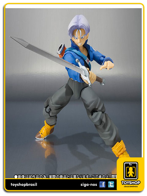 Dragon Ball Z S.H. Figuarts: Trunks Premium Color Edition - Bandai