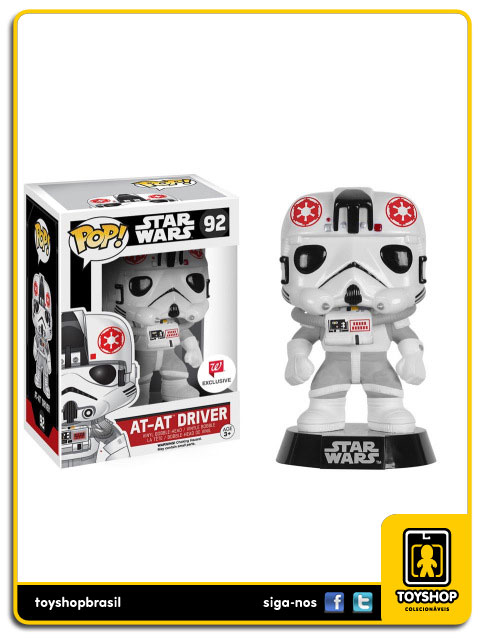 Star Wars: At-At Driver W Exclusive  Pop - Funko