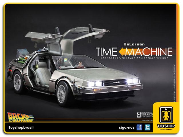 Back to the Future: Delorean 1/6 - Hot Toys