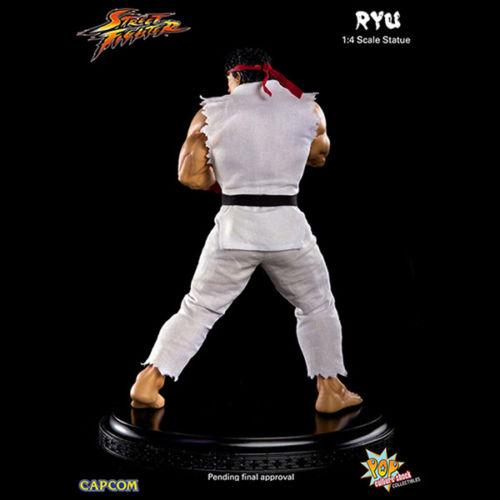 Street Fighter: Estátua Ryu 1/4 - Pop Culture Shock