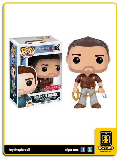 Uncharted 4: Nathan Drake Target Exclusive Pop - Funko