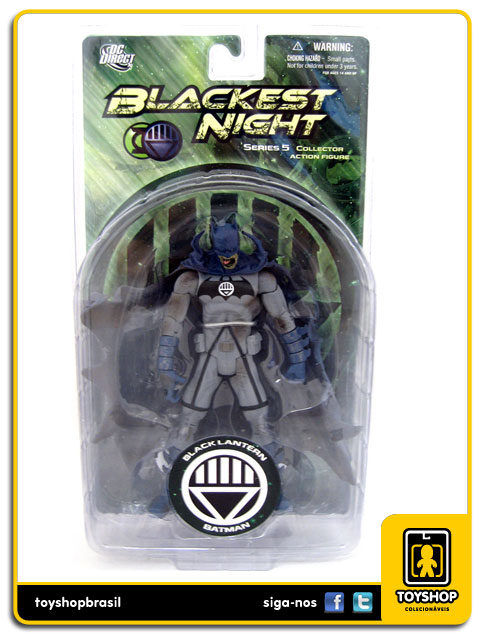 Blackest Night Black Lantern: Batman - Dc Direct