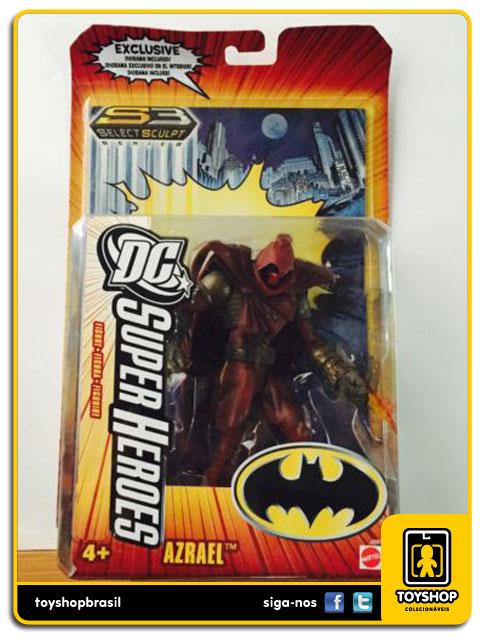 Select Sculpt Super Heroes: Azrael - Mattel