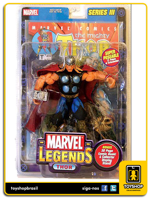 Marvel Legends Series III: Thor - Toy Biz