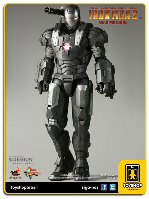 Iron Man 2: War Machine - Hot Toys