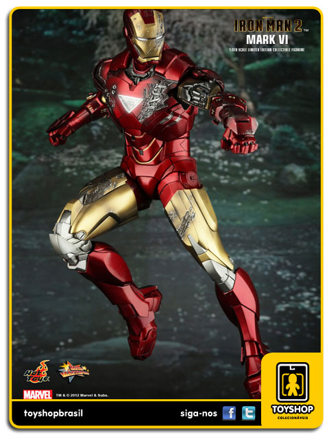Iron Man 2: Iron Man Mark VI - Hot Toys