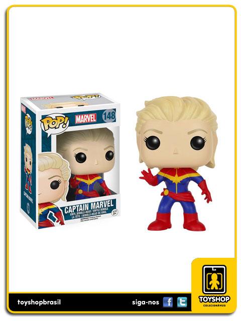 Marvel: Captain Marvel Pop - Funko