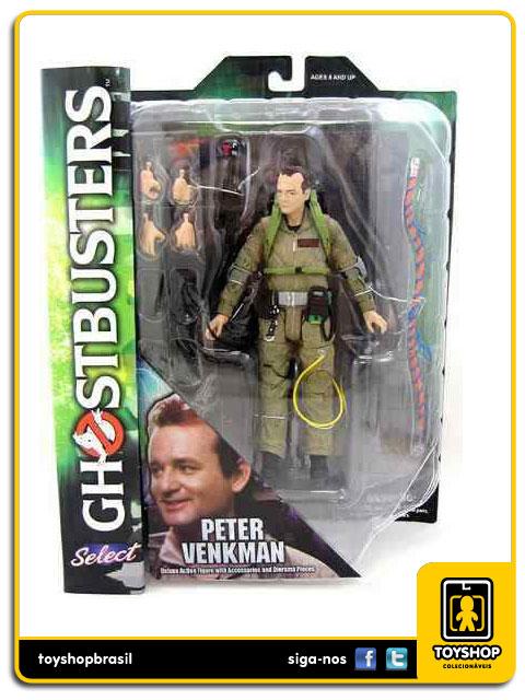 Ghostbusters Peter Venkman  Diamond Select