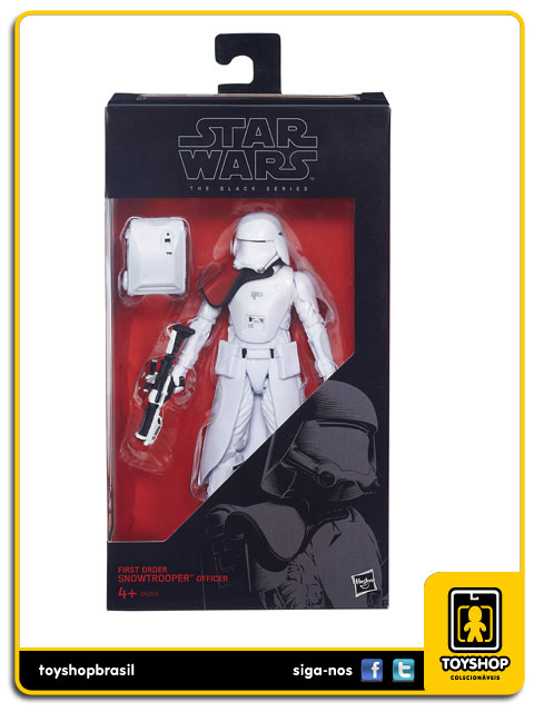 Star Wars The Force Awakens Black Series: First Order Snowtrooper - Hasbro