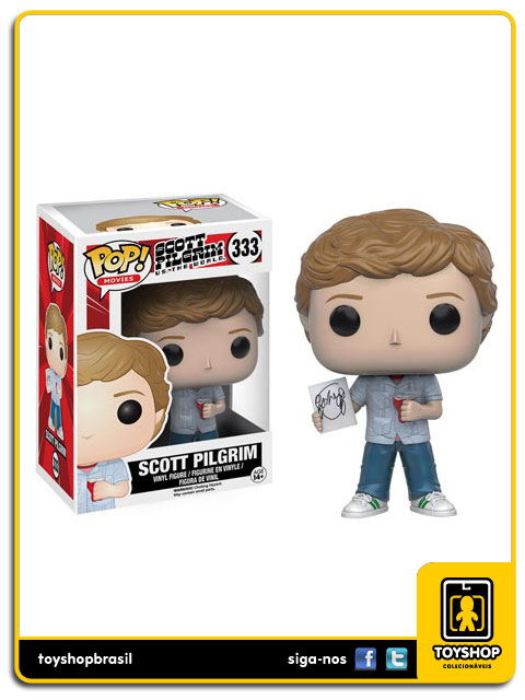 Scott Pilgrim vs The World: Scott Pilgrim Pop - Funko