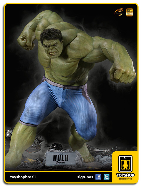 Avengers Age of Ultron: Hulk 1/3 Scale Maquette - Cinemaquette