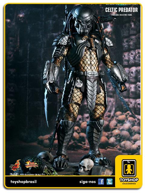 AVP Alien vs Predator: Celtic Predator - Hot Toys