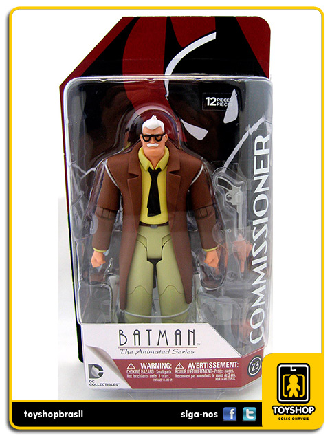 Batman The Animated Series: Commissioner Gordon - Dc Collectibles