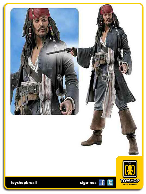 Pirates of the Caribbean Capt. Jack Sparrow 30cm  Neca