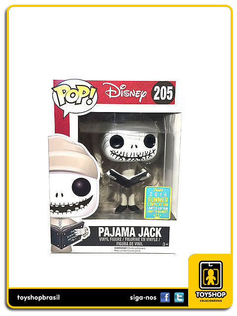 Nightmare Before Christmas: Pajama Jack Exclusive  Pop - Funko