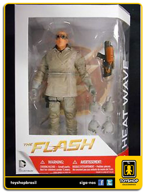 The Flash TV Series: Heat Wave - DC Collectibles
