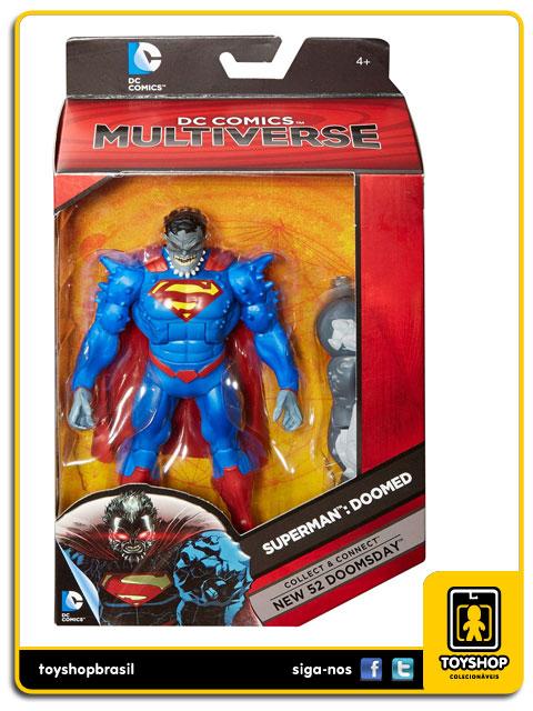 Dc Comics Multiverse  Superman:  Doomed - Mattel