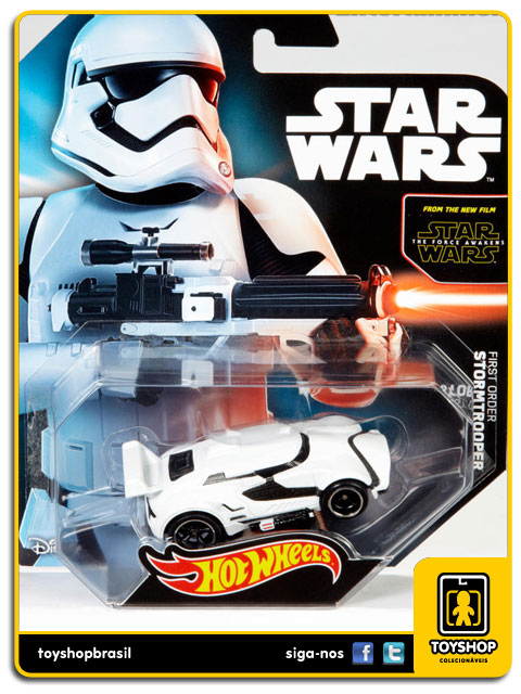Star Wars The Force Awakens: First Order Stormtrooper - Hot Wheels