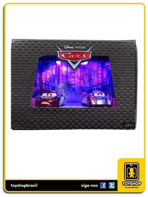 Disney Cars: Lightning McQueen vs Shu Todoroki - Mattel