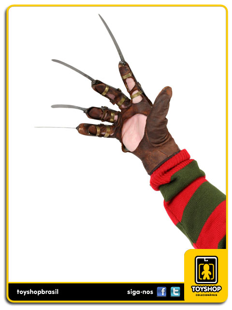 A Nightmare on Elm Street Part 3: Freddy  Glove Prop Replica - Neca