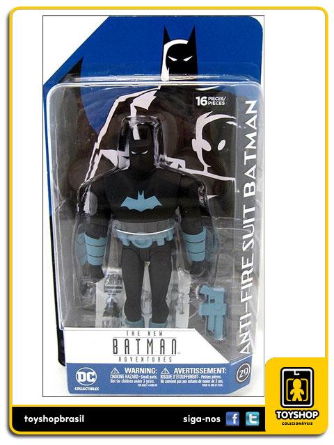Batman The Animated Series: Anti-Fire Suit Batman - Dc Collectibles