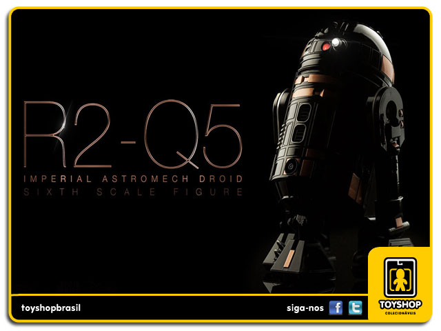 Star Wars: R2-Q5 Imperial Astromech Droid Sixth Scale 1/6 - Sideshow