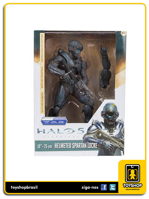 Halo 5 Guardians: Helmeted Spartan Locke Deluxe 10´ - Mcfarlane