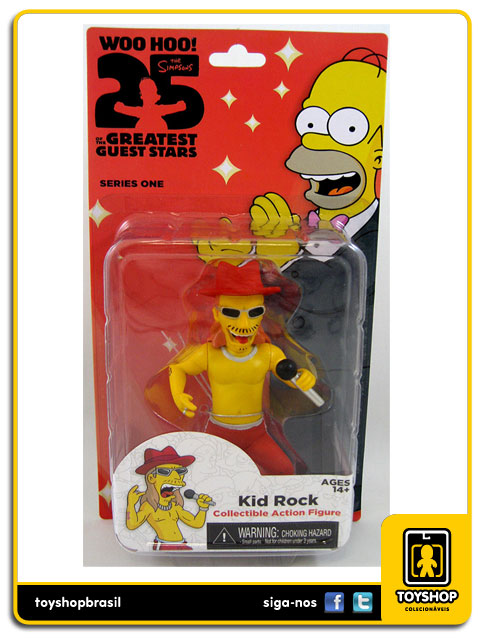 The Simpsons 25th Anniversary: Kid Rock - Neca