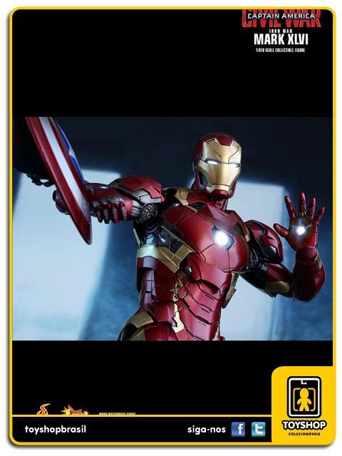 Captain America Civil War Iron Man Mark XLVI Hot Toys