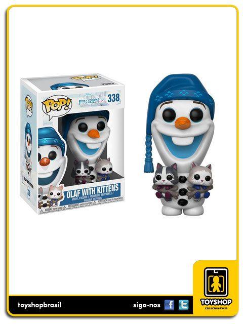 Frozen Adventure Olaf with Kittens Pop Funko
