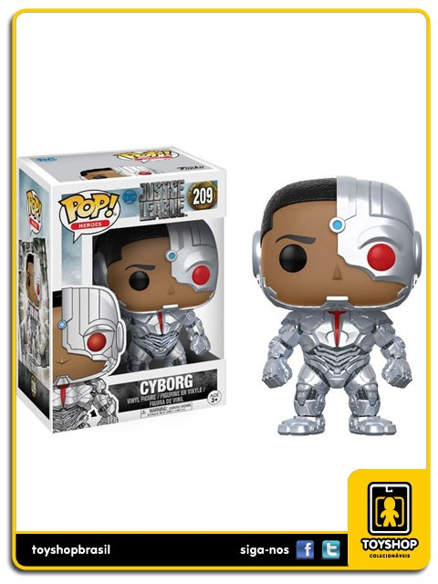 Justice League Cyborg 209 Pop  Funko