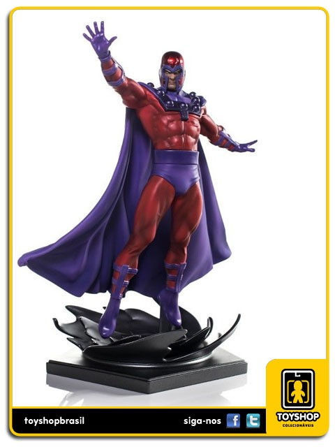 Marvel Comics Série 4 Magneto 1/10 Art Scale Iron Studios