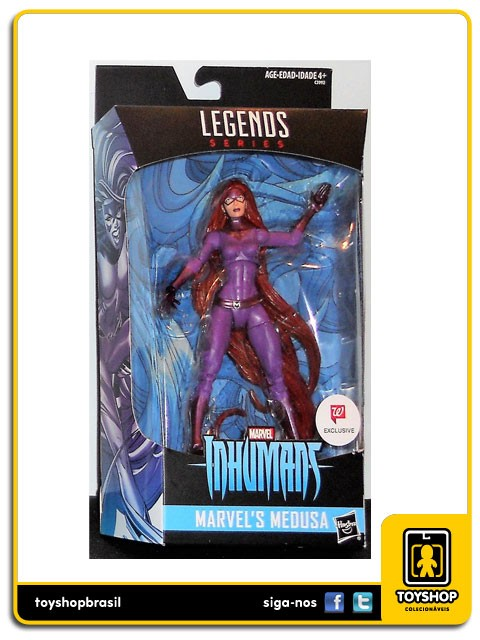 Marvel Legends Inhumans Medusa Exclusive Hasbro