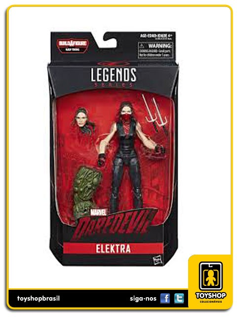 Marvel Legends Man-Thing Elektra Hasbro