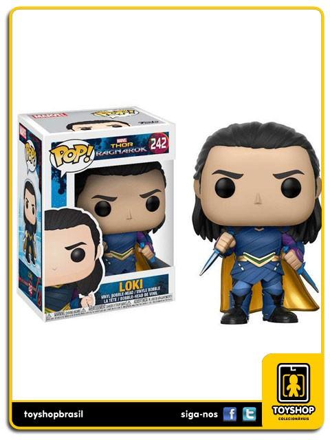 Marvel Thor Ragnarok Loki 242 Pop  Funko
