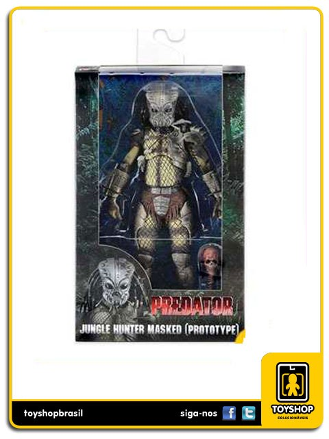 Predator 30th Anniversary Jungle Hunter Masked Prototype Neca Toys