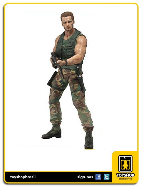 Predator 30th Anniversary Jungle Patrol Dutch Predador Neca Toys