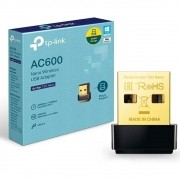 Adaptador Wireless TP-Link AC600 Archer T2U Nano USB