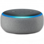 Amazon Smart Home Echo Dot Alexa 3ª Geração - Cinza