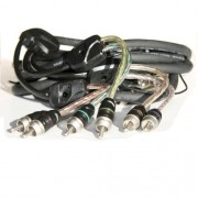 Cabo RCA Connection BT6 250 (2,5 m / Tripla Blindagem)