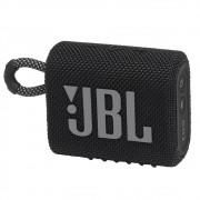Caixa de Som JBL GO 3 - Prova de Água IPX7 Bluetooth - Preto