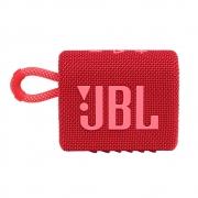 Caixa de Som JBL GO 3 - Prova de Água IPX7 Bluetooth - Vermelho