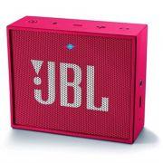 Caixa de Som Portátil JBL GO c/ bluetooth - Pink