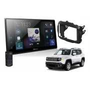 Central Multimídia Pioneer DMH-ZS8280TV p/ Jeep Renegade